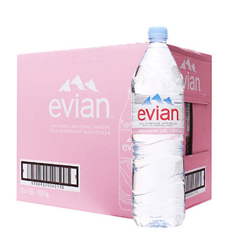 ce39aeaafd Evian Water Natural Mineral Still 330ml 500ml 750ml 1lt 1.5lt 2lt at ...