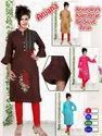 Rayon 3/4th Bell Sleeves Straight Kurti