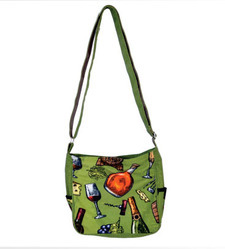 Printed Canvas Kids Bag