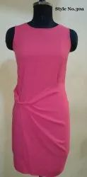 Women Surplus Sleeveless Dress