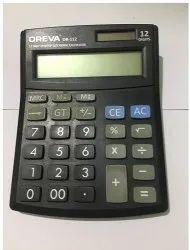 Black Oreva OR-112 Calculator