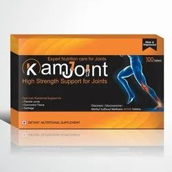 Kamjoint Care Dietary Nutrition Supplement Tablets, Packaging Type: Box
