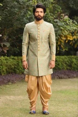 Wedding Wear Full Sleeves Men Indo Western Dress Rs 4000 Piece