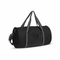 6db25bf75e7e Black Plain Sports Duffel Bag