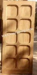 Teakwood Antique Wooden Main Door, For Home