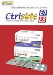 Thiocolchicoside 4mg   Etoricoxib 60mg