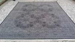 knotted Rectangular Handmade woolan carpet, For Home, Size: 8x10
