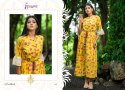 Psyna Handlooms Cotton Fabric Kurtis For Womens