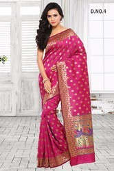 Pink South Indian Silk Sarees