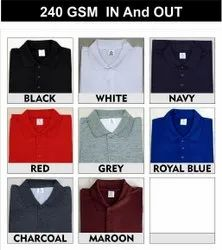 Plain Cotton Men T-Shirts