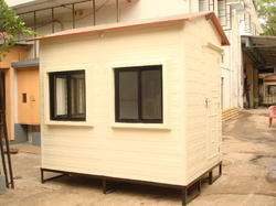 06 Feet Portable Guard Cabin