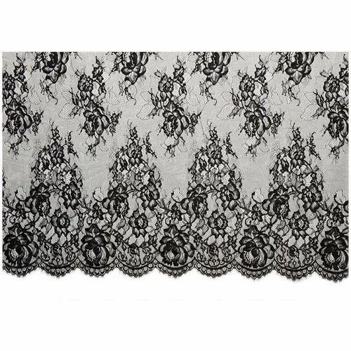 b6f03b22f7 Black Nylon Eyelash Fabric