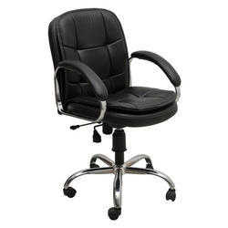 Leather Seat Office Revolving Chair