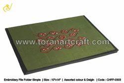 Embroidery File Folder Simple