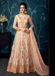 Eid Special Butterfly Net Floor Length Anarkali