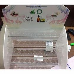 Pharmaceutical Acrylic Storage Rack
