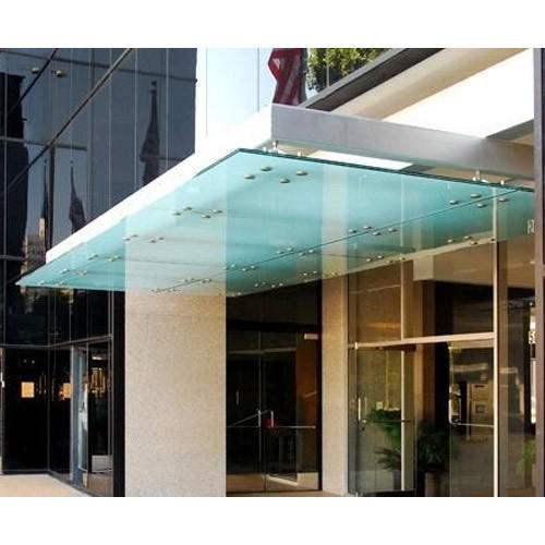 Toughened Glass Canopies At Rs 480 Square Feet
