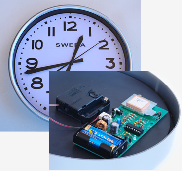 GPS Synchronised Clock, Usage: GPS Satellites To Get The Precise Time, Rs  9500 /piece | ID: 15913028133