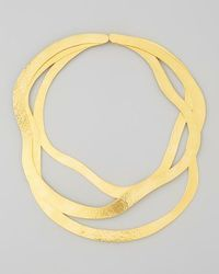 New Design Brass Made Gold Plated Trendy Design Women Necklace