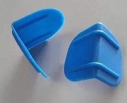 Blue Plastic Edge Corner