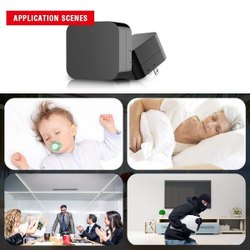 ABS Day & Night WIFI CHARGER CAMERA, For Security, Packaging Type: Box