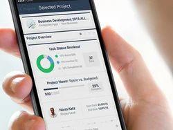 Project Management Mobile Application