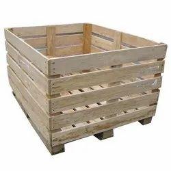 SSP Open Crates 2 Ton Wooden Crate