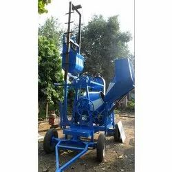 Lift On Concrete Mixer Machine