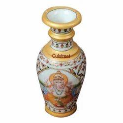 Multicolor Wooden Vase