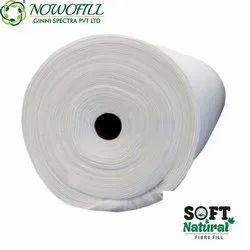 White Cotton Fabrics For Home Furnishing, GSM: 100 To 600