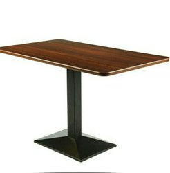 Restaurant Table Or Cafeteria Table Or Dining Table