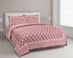 Boota Print Double Bed Sheet
