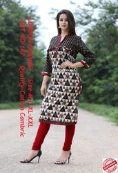 Cotton Cambric Ladies Kurti