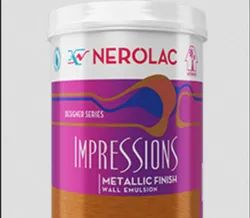 Nerolac Impressions Metallic Finish Paint, Packaging Type: Bucket