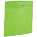 Green D Cut Non Woven Bag