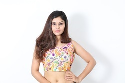 Kutch embroidery Blouse