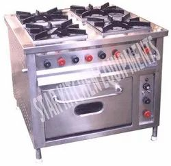 Four Burner Cooking Range With Oven