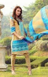 lala Cotton Ladies Suit, Machine wash