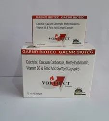 Methylcoblamin 1500MCG & Calcium Carbonate 500MCG  CALCITROL ZINC)