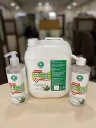 Aromatree Herbal Hand Sanitizer Liquid-5L