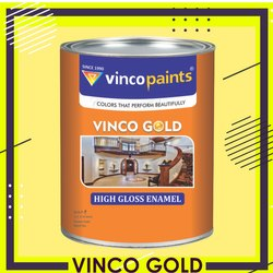 Vinco Paints Vinco Gold High Gloss Enamel Paints, Packaging Type: Can