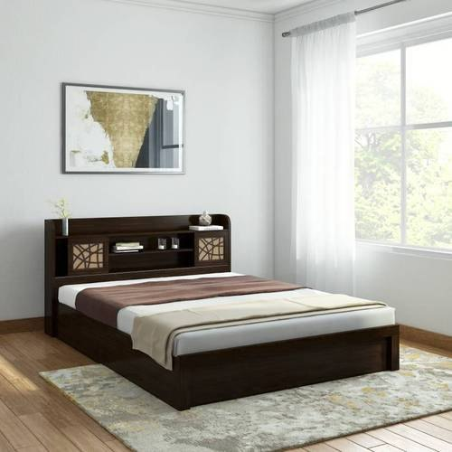 Modern Queen Size Wooden Bed Rs 25999 Unit Perfect Interior Decorator Id 20225217730