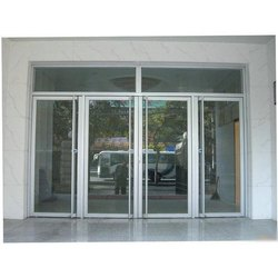 Hinged Aluminum Glass Door