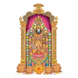 Tirupati Bala Ji Modern Art, Size: 45 cm