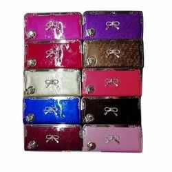 Printed and Plain Ladies China Clutch