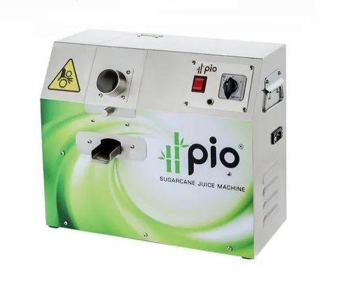Pio Sugarcane Juice Machine, 120 kg/hr, 0.5 hp, Price from ...