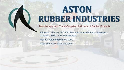 Rubber Molded Items | Aston Industries | Manufacturer in Nh-8