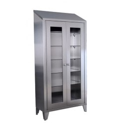 Stainless Steel Display Cupboard