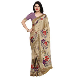 Stylish Turkey Silk Printed Saree