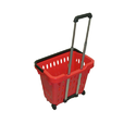 Wheel Plastic Shopping Trolley